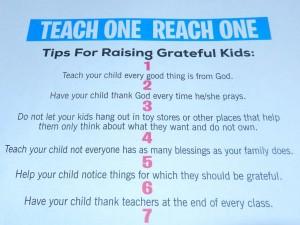 Tips for Raising Grateful Kids - Parenting Like Hannah